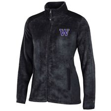 Washington Huskies NCAA Full Zip Women's Team Logo Flurry Jacket by Champion