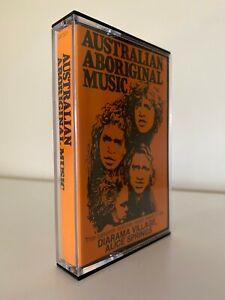 Australian Aboriginal Music Cassette Diarama Village Alice Springs