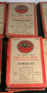 Ordnance Survey One Inch  6th Edition 1946, choose one or more vintage form list