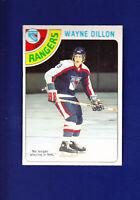 Wayne Dillon 1978-79 O-PEE-CHEE OPC Hockey #73 (NM+) New York Rangers