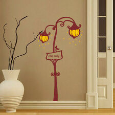 Street Lamp 3D  Removable Home Decor Room Wall Poster Stickers Decal Mural