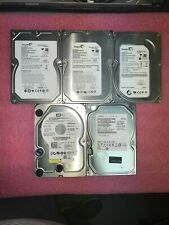 """LOT OF 5 500GB SATA 3.5"""" Internal HDD different models and P/Ns -see description"""