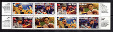 3143-46 FOOTBALL COACHES  BLOCK (8)With COACHES HIGHLIGHTS  MNH