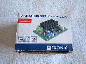 H-Tronic DC-Drehzahlsteller 24 V/DC      1543