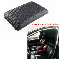 Car Center Console Armrest Box PU Leather Cover Pad Arm Hand Elbow Fit For Rest