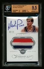2013-14 MARK PRICE PANINI FLAWLESS ON CARD AUTO 3-COLOR PATCH 6/25  BGS 9.5