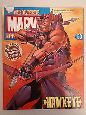 Eaglemoss The Classic Marvel Figurine Collection #50 Hawkeye-Magazine only