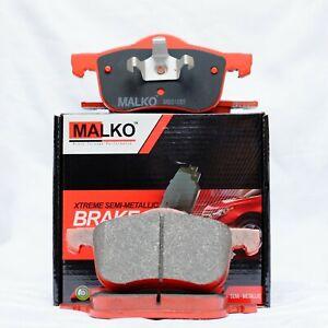 MALKO Front Brake Pads Volvo XC70 CROSS COUNTRY AWD Wagon 2000 - 2007