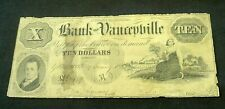 1854 BANK OF YANCEYVILLE,NC $10 OBSOLETE NOTE    (8385)