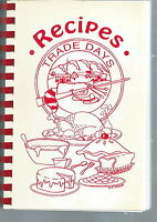NF-002 - Recipes Trade Days, Trade, TN Cookbook Vintage 1990's