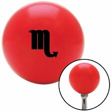 Black Scorpio Red Shift Knob with M16 x 1.5 Insert mg tc model t icon race