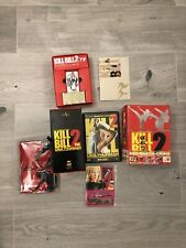 Kill Bill Vol 2 Japanese Box Set Bear Brick Limited Edition RARE JAPAN UNCUT DVD