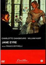 Jane Eyre - DVD - Charlotte Gainsbourg - William Hurt - wie neu - selten
