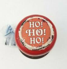 "Christmas Door Knob Hanger Stocking Hanger ""Ho Ho Ho"""