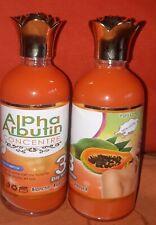 Concentré papaya Alpha arbutin blanchissant  ultra rapide rajeunit adoucir nourr