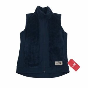 The North Face Women's Blue Fleece Vest Size Small NWT