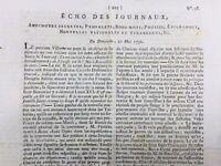 Rare Journal Révolution Français 1792 Louis 16 Guernesey Gersey Marseille
