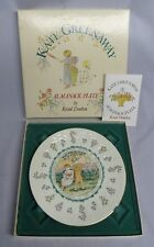 Royal Doulton Kate Greenaway Almanack November Sagittarius Astrological Plate