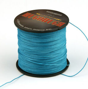 1000M 6-100lb Tackle Super Braid Fishing Line Strong 9 Color
