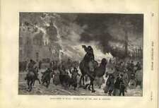 1879 Incendiarism In Russia Destruction Of Town Of Orenburg