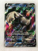 Rillaboom V FULL ART ULTRA RARE 175/192 SWSH Rebel Clash Pokemon NM