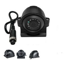 4 Pin IR CCD Side View Color Camera 120 degree 700 TVL For Truck Bus Waterproof