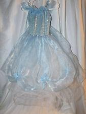 WEISSMAN LIGHT BLUE PRINCESS BALLROOM TULLE DRESS TODDLER XSC LEOTARD EUC