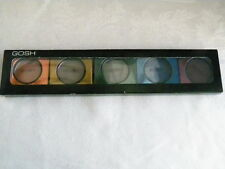 New Sealed Gosh Mono Collection ~ Lot of 5 Eye Shadow Copper Greens Blue Purple