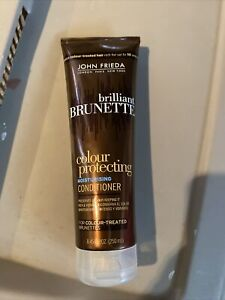 John Frieda Brilliant Brunette Color Protecting Conditioner 8.45 oz New