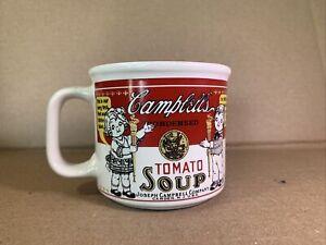 2} Vtg Campbell's Soup Kids Collectible Mug Cup 1999 Westwood Gold Medal