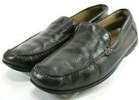 ECCO Men's $100 Driving Loafers Size EU 43 US 9-9.5 Leather Brown