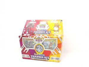 Pokemon TCG Sun and Moon Trainer Kit Lycanroc & Alolan Raichu: 2 x 30-Card Decks