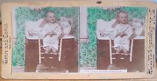 Stereoview Hands JUST BEEN WASHED Toddler Boy Genre & Comic View TW Ingersoll
