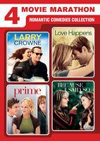 4-Movie Marathon: Romantic Comedies Collection - 2 DISC SET (2016, DVD New)