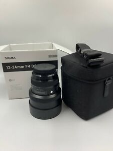 SIGMA 12-24mm F4 DG lens for Canon