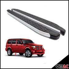 Side Steps Running Boards Nerf Bars Aluminum 2 Pcs. For Dodge Nitro 2007-2012