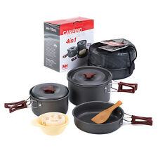 2-3 Person Non-stick Pot And Pan Camping Pot Sets Folding Cookware NH15T203-G