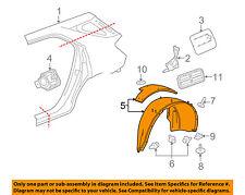 GMC GM OEM 10-16 Terrain Rear-Fender Liner Splash Shield Right 23483776