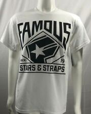 Famous Stars and Straps KILLA SHOTTY White Gold Brown Discounted Men/'s T-Shirt