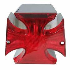 Maltese Cross Tail Lamp ideal for chopper, bobber, custom motorcycles