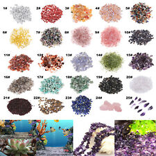 100g DIY Fish Tank Natural Stone Pebble Crystal Gravel Flowerpot Aquarium Decor
