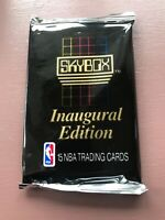 1990 SKYBOX Inaugural Edition - 15 NBA BASKETBALL TRADING CARDS PACK NEW