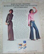 1979 ad page - Sure deodorant CUTE teen girl JAYNE MODEAN model PRINT ADVERT