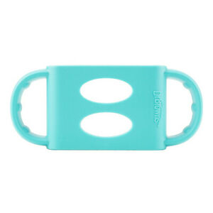 (turquoise, wide-neck) - Dr. Brown's 100% Silicone Wide-Neck Baby Bottle