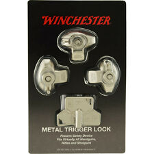 Gun Trigger Lock - 3 Pack - Winchester Metal Trigger Locks - Keyed Alike - NEW