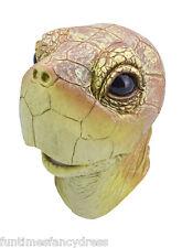 Overhead Sea Turtle Latex Mask Tortoise Reptile Ninja Touché Tippi Fancy Dress