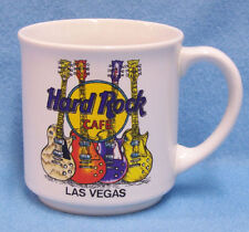 Collectable Hard Rock Cafe Las Vegas Coffee Mug Cup Souvenir Guitar