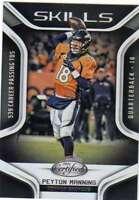 2016 Panini Certified Skills Insert #7 Peyton Manning Broncos