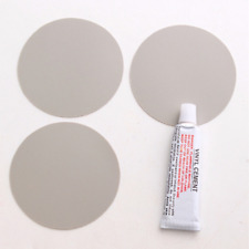 3X Pvc Patch Swimming Pool Inflatable Float Boat Toy Repair Kit + Adhesive Glue