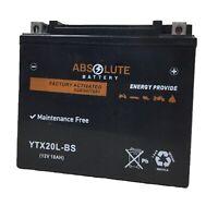 New YTX20L-BS Battery For Kawasaki Jet Ski 750 JH750 E1,F2,G1,G2 1995-1999  AGM